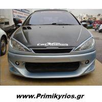 Carbon 3M σε Καπό Peugeot 206