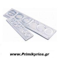 Μεταλλικά Αυτοκόλλητα Sparco10cm