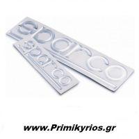 Μεταλλικά Αυτοκόλλητα Sparco 18cm