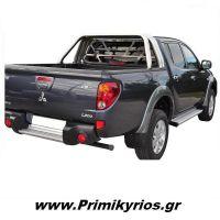 Roll Bar Mitsubishi L200 (TRITON) 2006+ Τριών Σκελών Επίπεδη Σχάρα