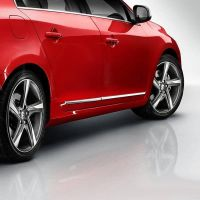 VW S60 4D 2013+ ΠΡΟΣΤΑΤΕΥΤΙΚΗ ΦΑΣΑ ΠΟΡΤΑΣ ΠΛΑΣΤΙΚΟ ΧΡΩΜΙΟ 8ΤΕΜ.