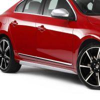 VW S60 4D 2011>2013 ΠΡΟΣΤΑΤΕΥΤΙΚΗ ΦΑΣΑ ΠΟΡΤΑΣ ΠΛΑΣΤΙΚΟ ΧΡΩΜΙΟ 8ΤΕΜ.