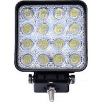 ΠΡΟΒΟΛΕΑΣ WORKING LIGHTS 10-32V 48W 2500lm 16x3W OSRAM LED ΤΕΤΡΑΓΩΝΟΣ 110x60x142mm M-TECH