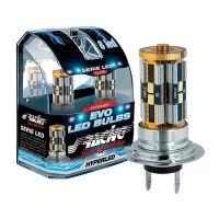 Simoni Racing H16 12V 8LED EVO LED RACING 2ΤΕΜ.